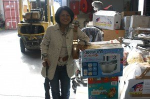 Le seul objet personnel, c'est mon robot de cuisine qui sera mis dans le container !