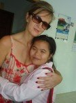 Sylvie et sa filleule Sophie-Nan