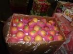 Une caisse entière de pommes, fruit très réclamé par les enfants