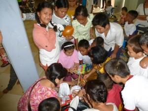 Ah, les enfants les adorent ...heu, nous essayons de ne pas trop leur en donner