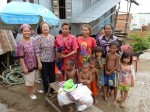 Famille nombreuse de 12 personnes dont 7 enfants