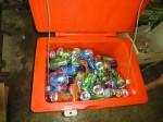 Sans oublier des canettes de boissons sucrées très demandées par des enfants