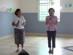 Speech de la directrice pour remercier les bénévoles et notre Fondation Elephant Blanc