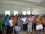 J'explique à tous que le donateur est khmer comme eux, très touché par le sort des enfants.