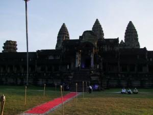 Concert Handel, Bach et Ballet royal du Cambodge aux temples d'Angkor